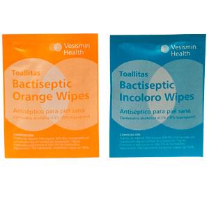 Toallitas Bactiseptic Wipes