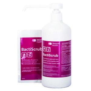 Material Médico y Sanitario. Producto Antiséptico BactiScrub