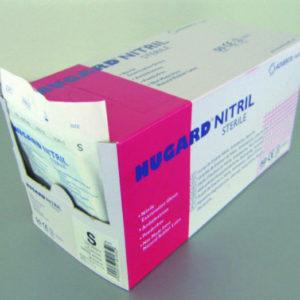 Material Médico y Sanitario - Guante de nitrilo estéril Nugard