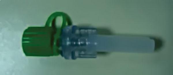 Válvula anti-retorno luer lock para inyección PMH