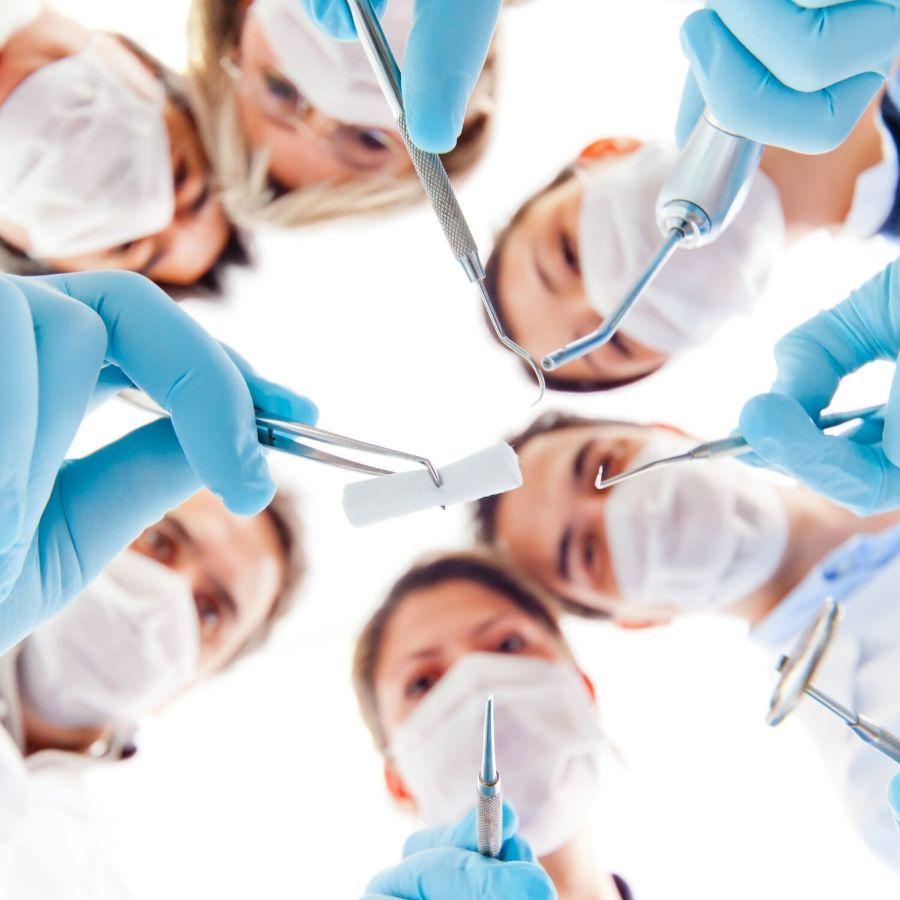 Varios material médico sanitario