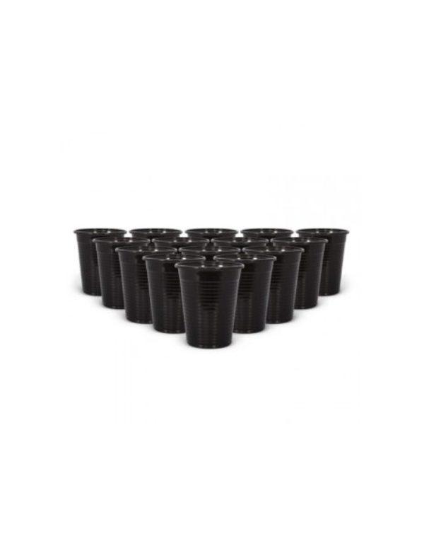 Vasos de Plástico Negros Select Black